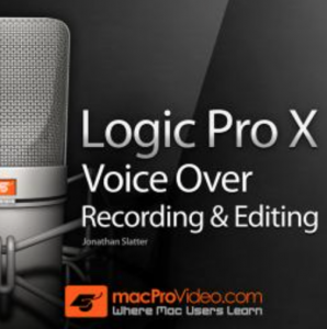 Edit voiceovers with Logic Pro